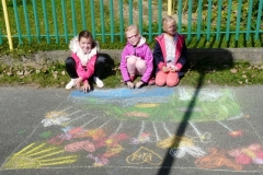 Malovanie na chodnik 2016
