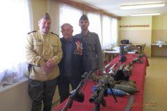 Výstava zbraní 2. sv. vojny