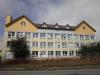 Budova školy s učebňami